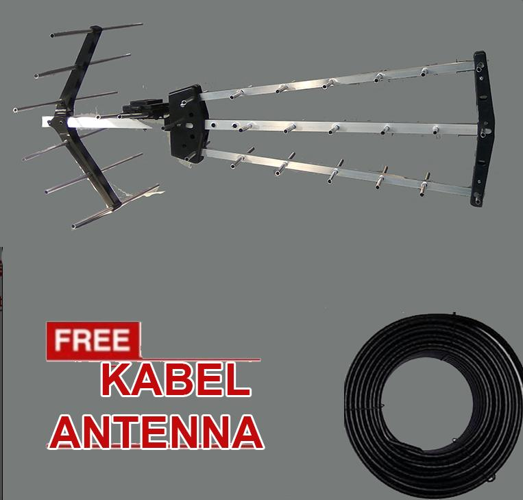 Antenna  Digital Antena Luar Ruangan + GRATIS Kabel Outdoor