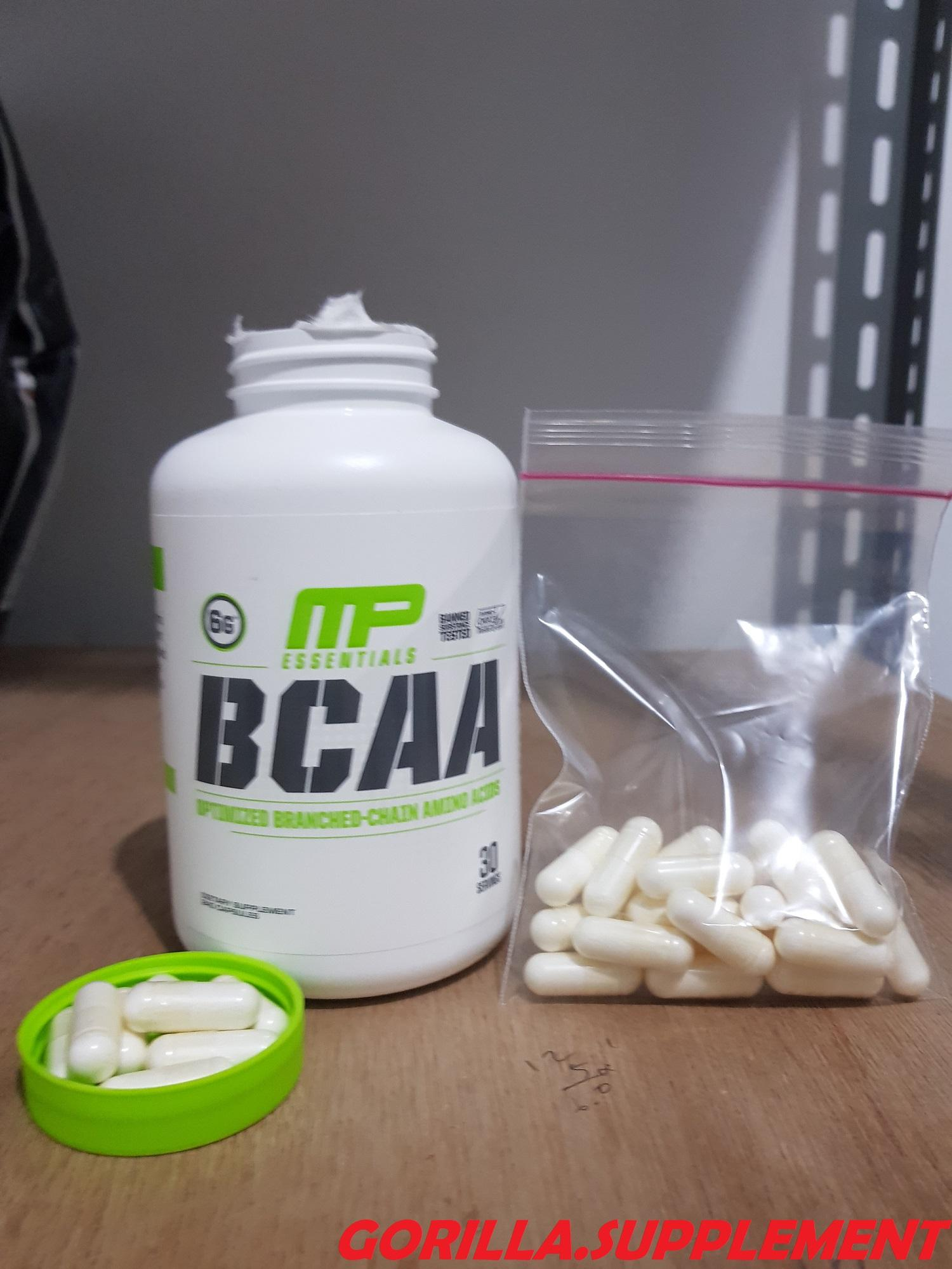 NEW MusclePharm - MP BCAA ECER 50 CAPSULES
