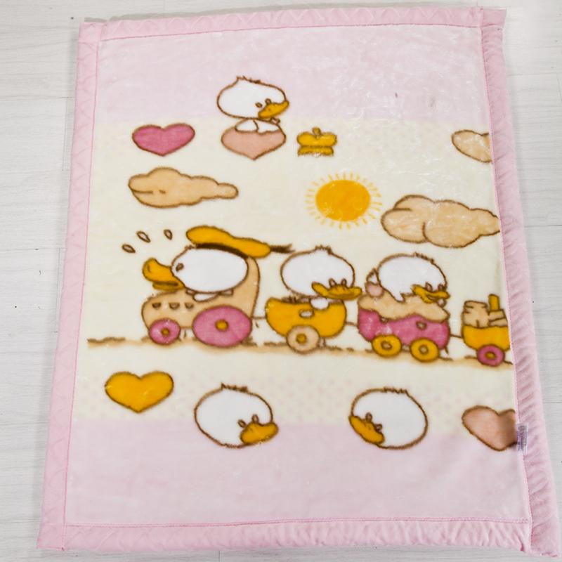 Raschel Lebih tebal selimut bulu Tunggal Kartun anak-anak selimut flanel TK asrama selimut bulu