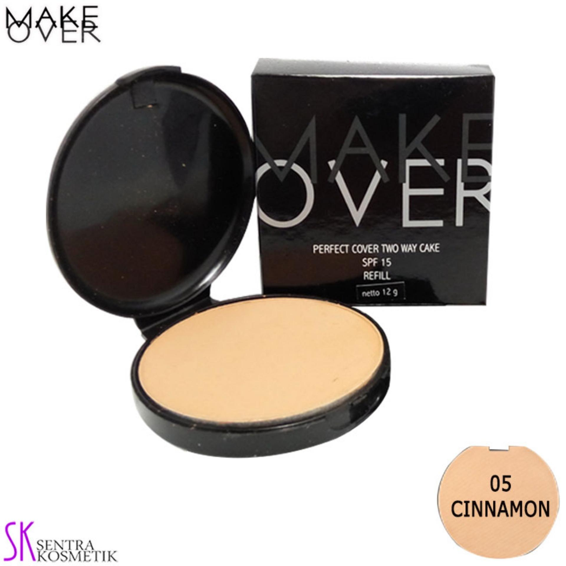 Make Over Perfect Cover REFILL Two Way Cake 05 - Cinnamon