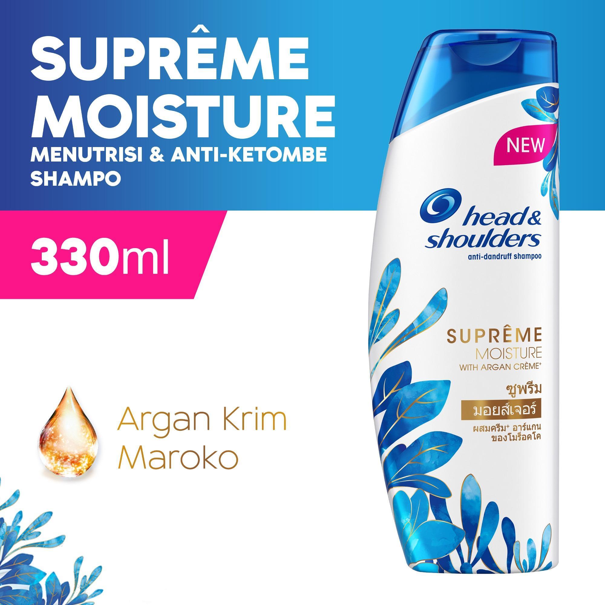 Head & Shoulders Shampo Supreme Moisture Anti-Ketombe 330ml