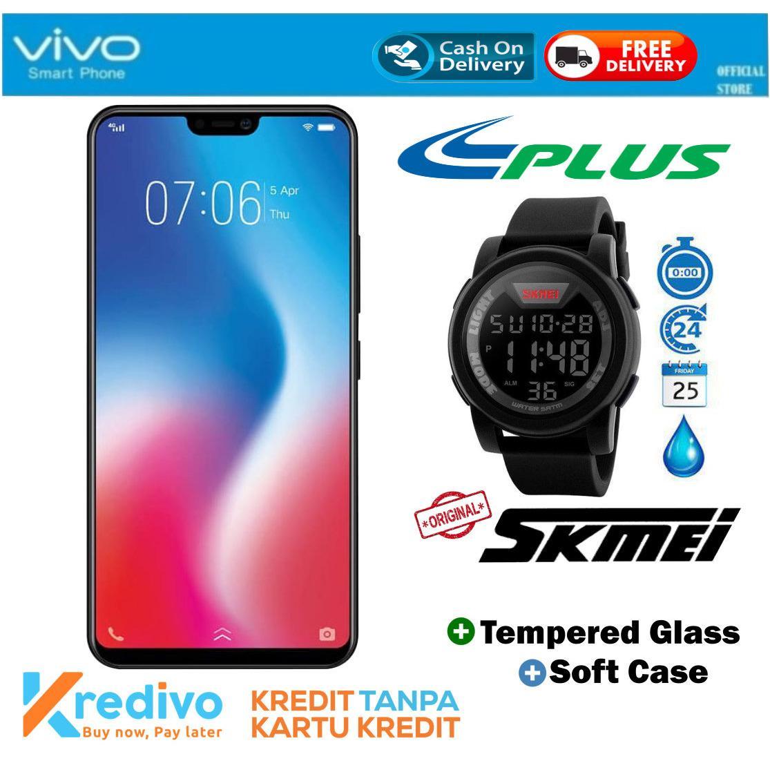 VIVO V9 4/64 - Black Plus SKMEI 1142A