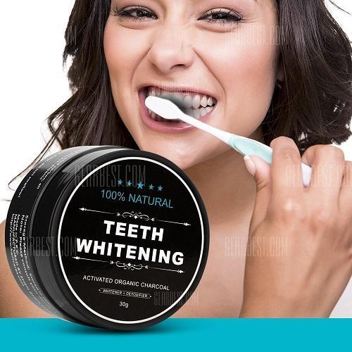 IRMIE STORE - Charcoal Powder Activated Teeth Whitening Pot - Pemutih Gigi Paling Ampuh