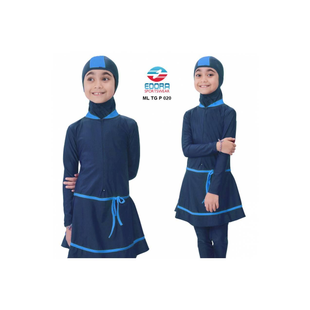 Baju Anak Renang Berenang SD Muslim Panjang Muslimah Murah Swim Tahun