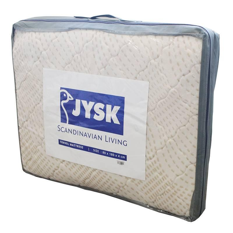 Jysk - Kasur Lipat Travel Mattress Jysk 80x180x4cm Brown By Jysk.