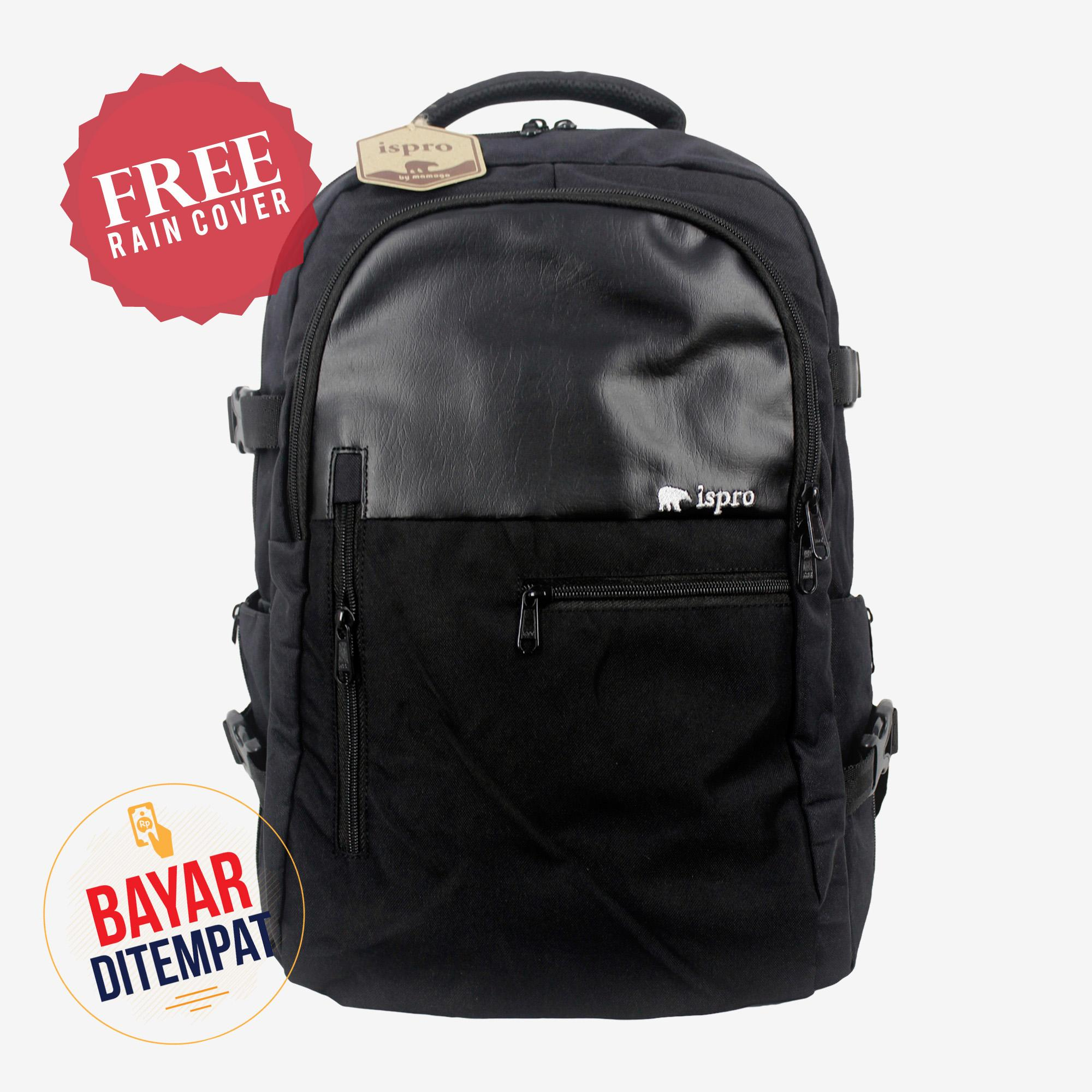 Ispro Original Tas Vintage Backpack - Tas Ransel - Tas Sekolah - Pria -  Wanita e2a6745266