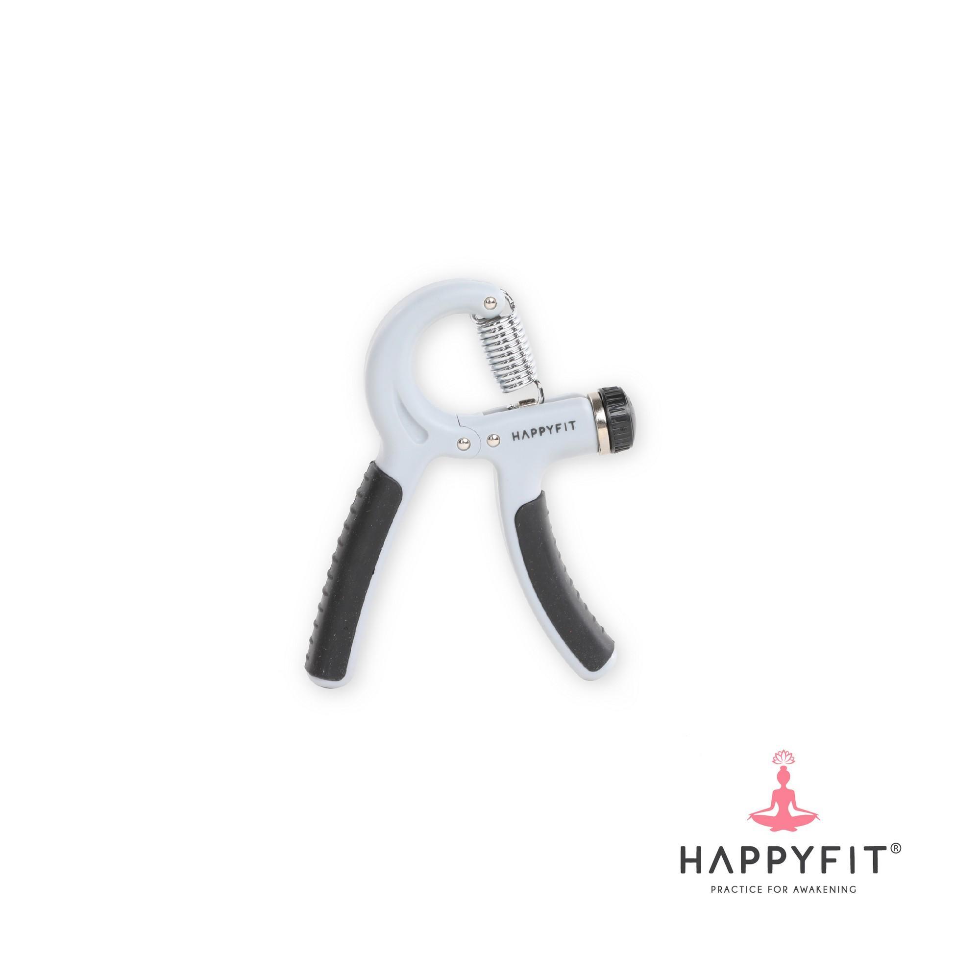 Happyfit High Quality Adjustable Hand Grip - Grey By Happyfit Indonesia.