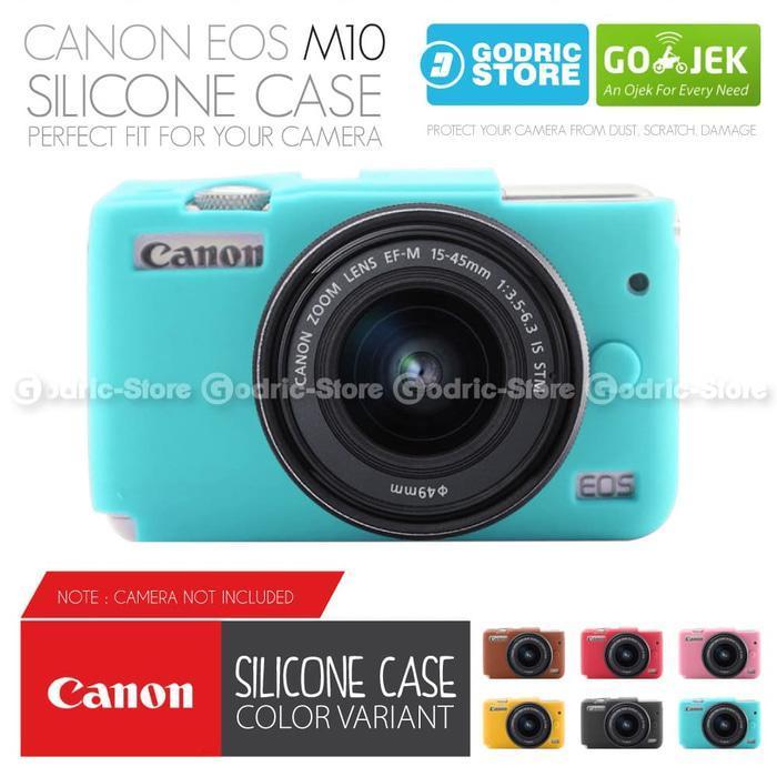 Godric Silicone Canon EOS M10 Silikon Case / Sarung Silicon Kamera Mirrorless