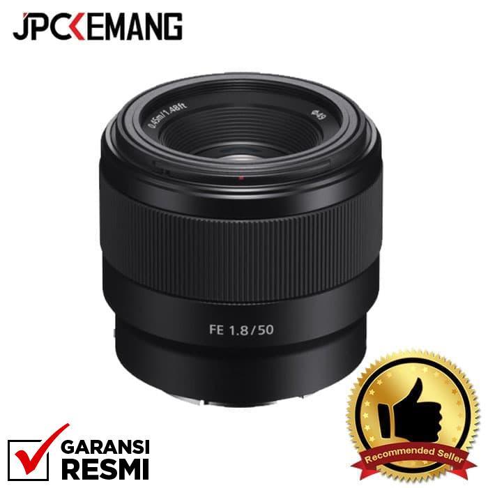 Sony Fe 50mm F/1.8 Jpckemang Garansi Resmi By Jpc Kemang.