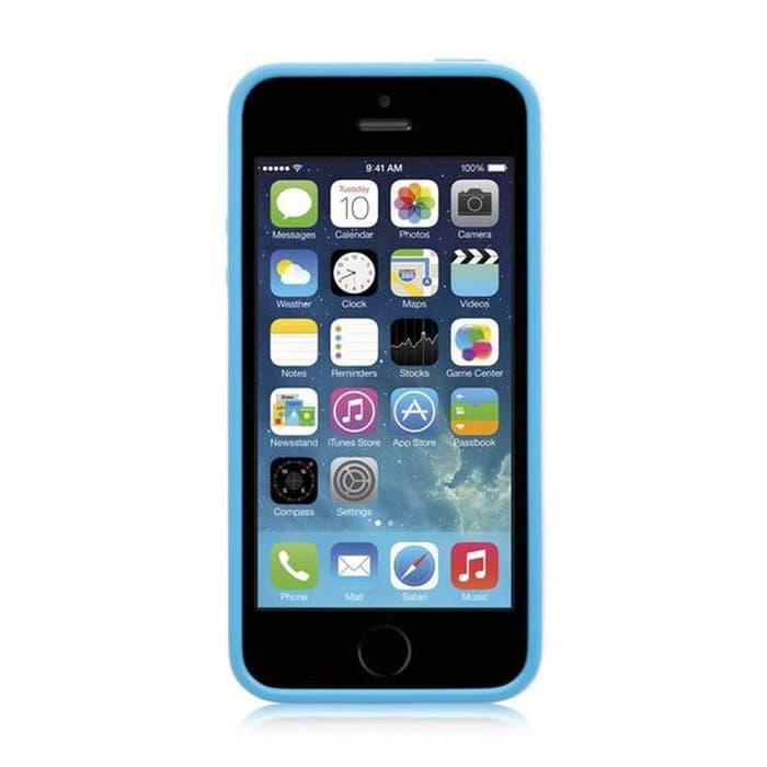 Casing / Cover Joop Soft Bumper iPhone 5/5S/5SE Free ScreenGuard Original - Blue Original Murah