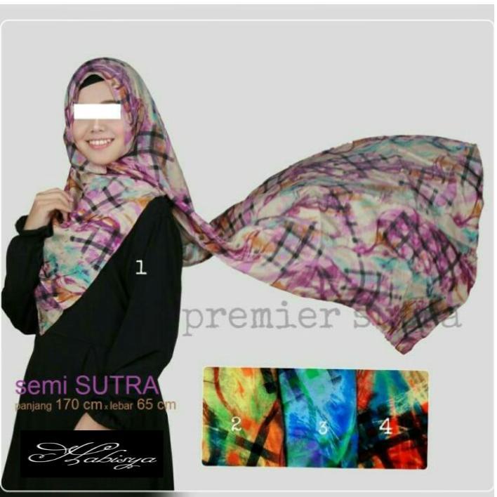 Kerudung Hijab Pasmina Instan Premier Sutra OBRAL!