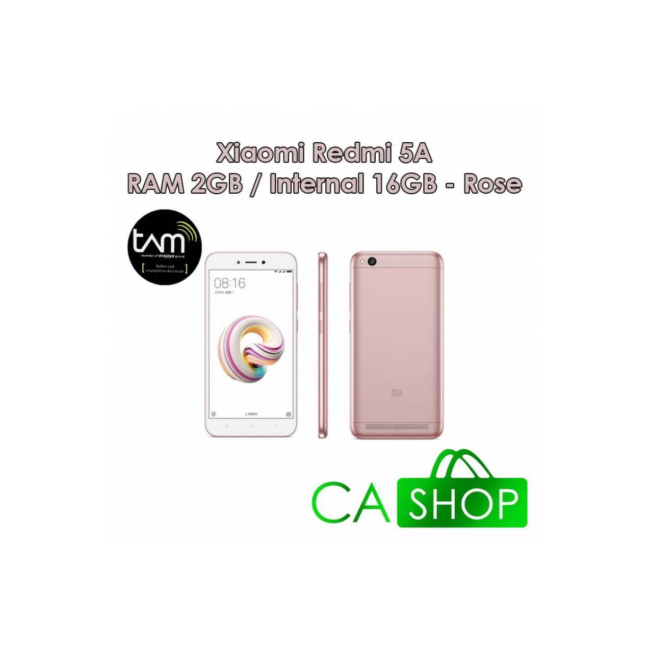 Xiaomi Redmi 5A 2/16 - Rose - Baru NEW - Resmi TAM  - 51314eb6a46a2f1ff171fd861ab5d256 - Update Harga Terbaru Hp Baru Xiaomi Redmi 5 Agustus 2018