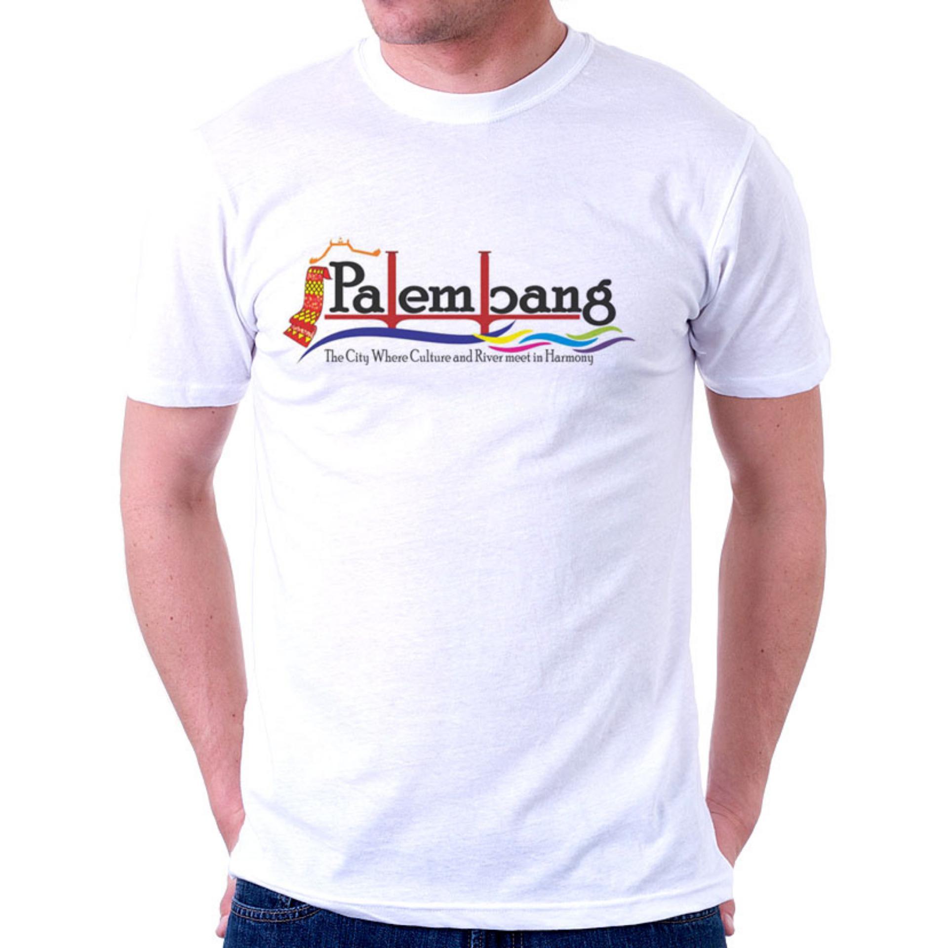Kaos Indonesia-Palembang Murah