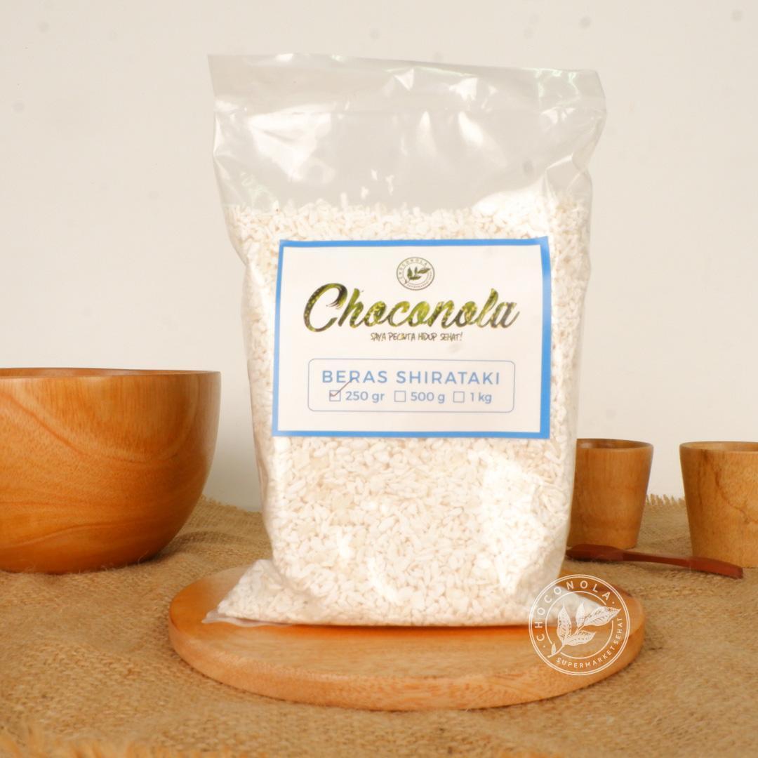Shirataki Konnyaku Rice Kecil 500g / Beras Diet Konyaku rendah kalori