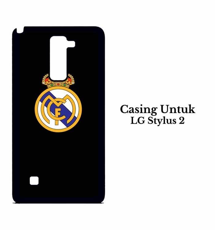 Casing LG Stylus 2 real madrid dark fix Custom Hard Case Cover