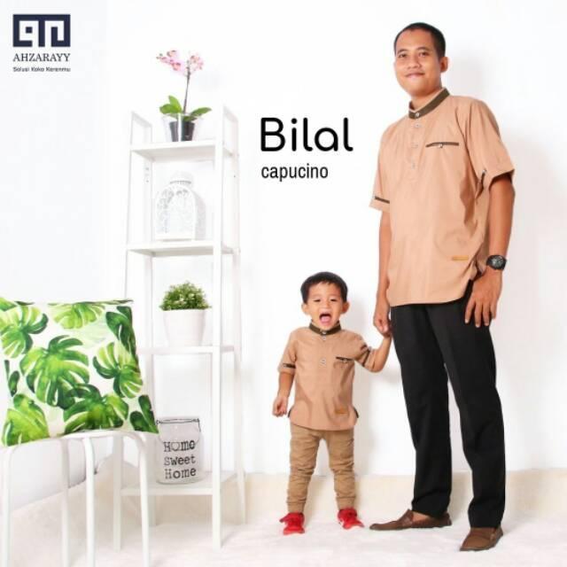 Koko Couple/Koko Ayah Anak/Koko Ahzarayy/Koko Mocca/Koko Cappucino/Baju Keluarga/Baju Aqiqoh (Daddy XL)