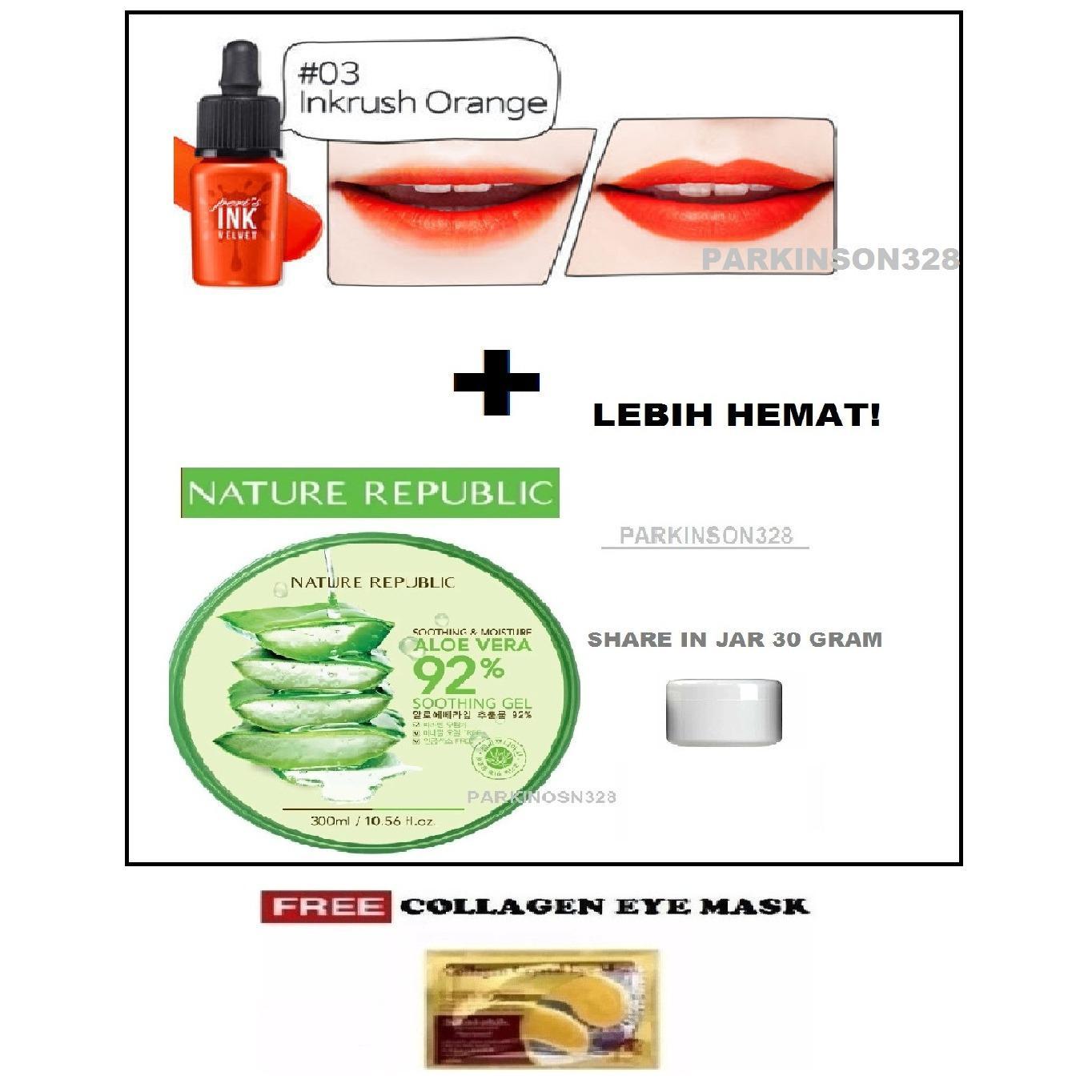 Lipstick Aloe Vera Soothing Gel Termurah Oktober 2018 Promo Market Terlaris 92 Nature Republik Cream Ajaib Serbaguna Peripera Peris Ink Velvet Original 03 Inkrush Orange 1 Buah Republic