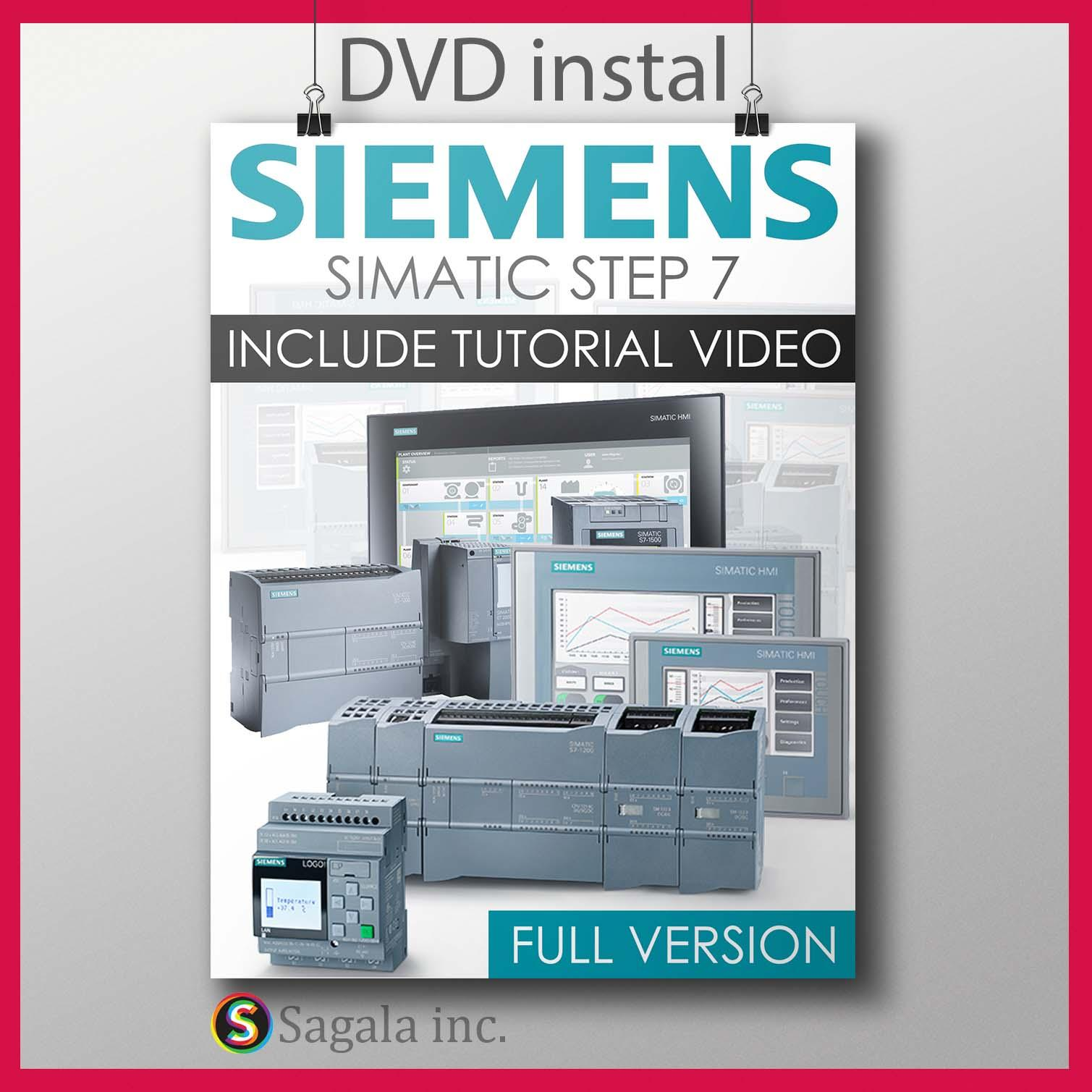 siemens simatic step 7 Professional V5 6 plus tool and tutorial