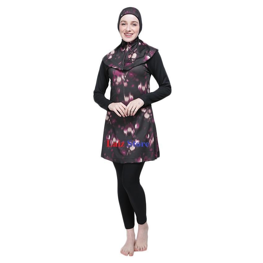 Baju Olahraga Renang Wanita Muslimah - Baru