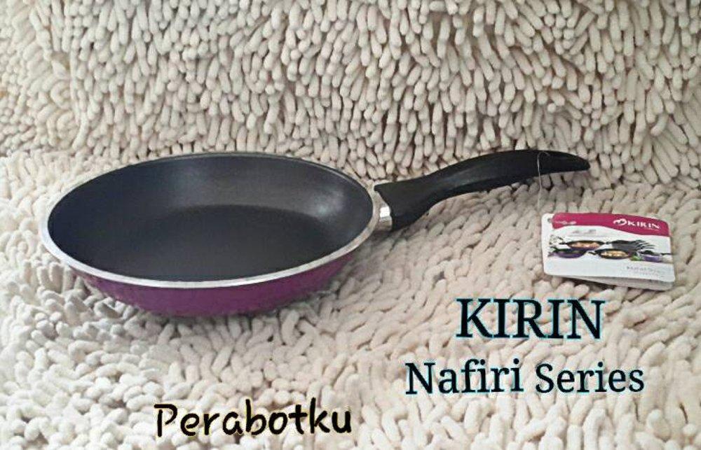 KIRIN Fry Pan 24cm Nafiri Series Frypan Wajan Goreng Teflon UNGU