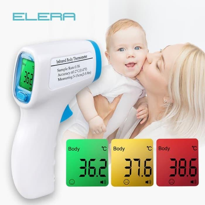 Digital Infrared Thermometer/termometer/thermo Gun Non Contact By Solusi Gadget
