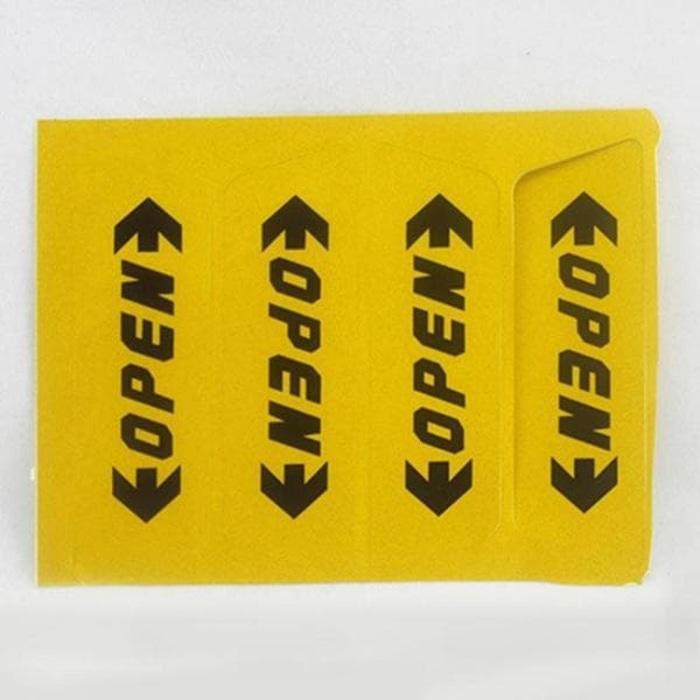 Stiker Reflective Pintu Mobil Open Warning Door - ready stock