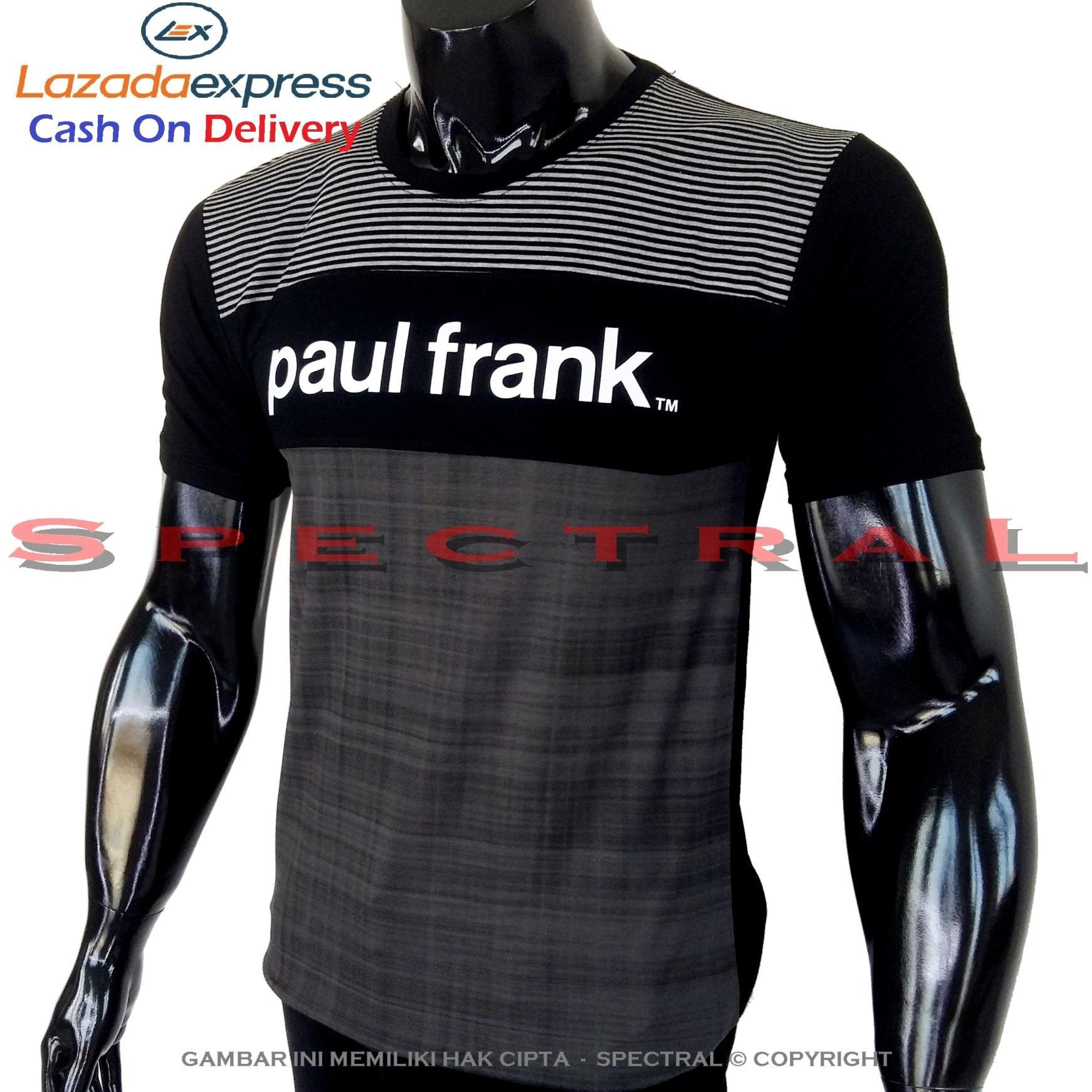 Spectral - Kaos Distro PAUL FRANK Soft Rayon Viscose Lycra Pola M Fit To L Simple Fashionable Tidak