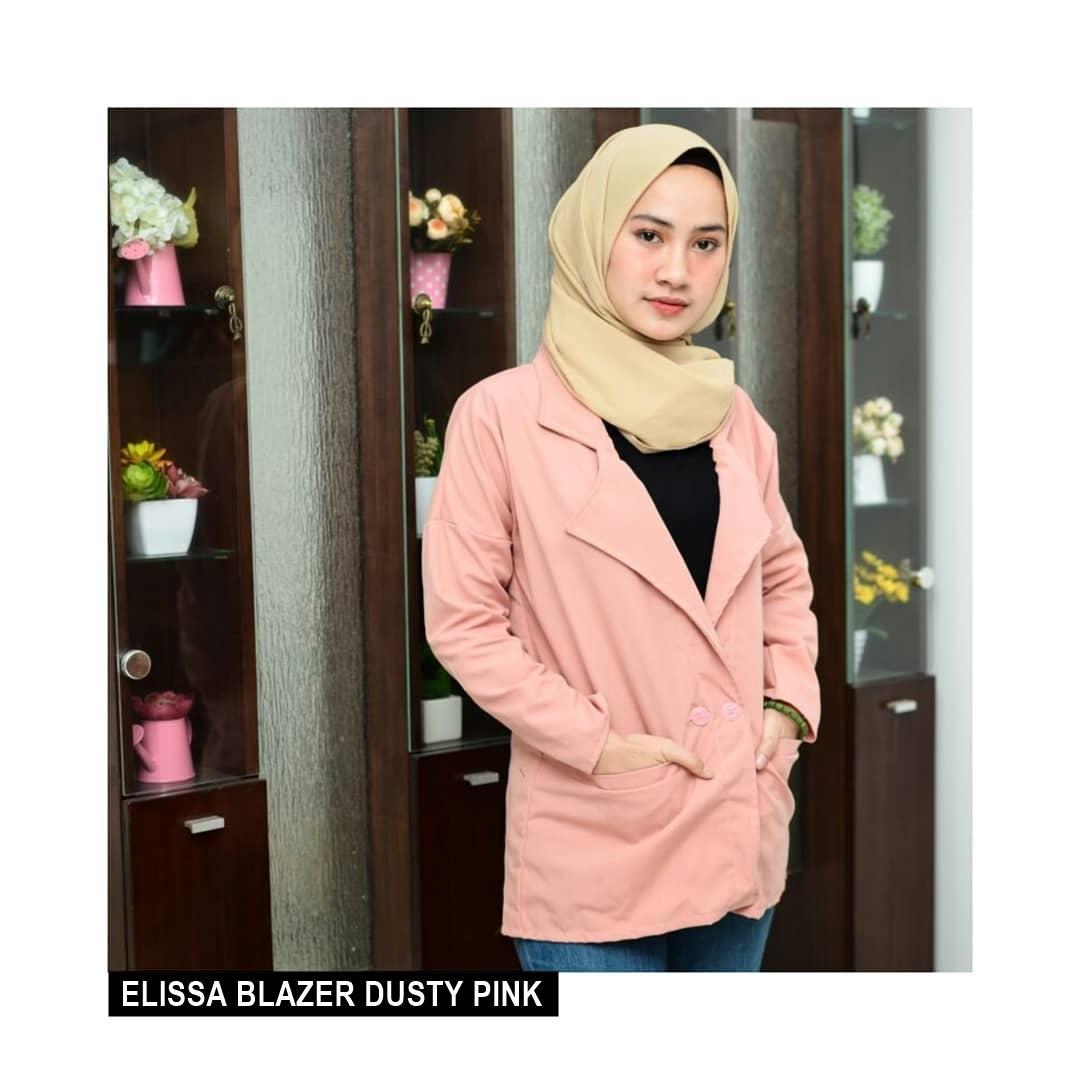 ... jaket sweater baju atasan blouse rajut. Source ... hijab terbaru kekinian wanita murah. Source · ELISSA BLAZER |||
