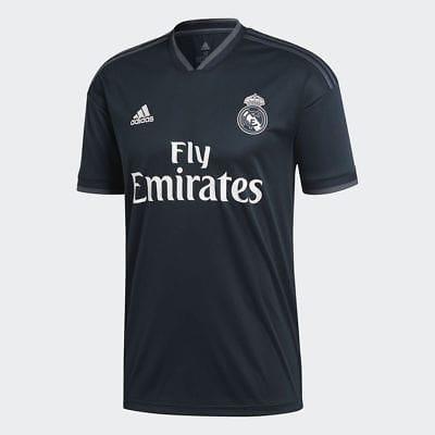 VERICHI - Jersey Bola Replica Shirt Jersey Away Real Madrid 2018-2019 Ukuran S M L XL Elegant Murah