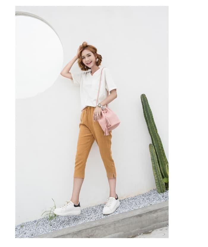 Jual Tas Serut Bucket Bag Tas Selempang Wanita Fashion