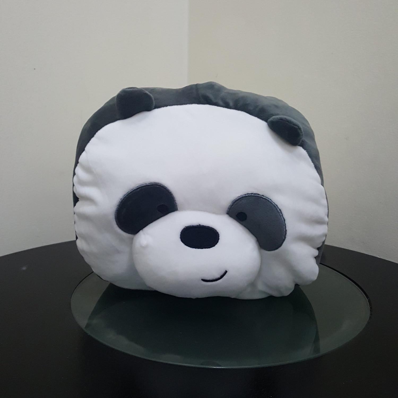 MINISO We Bare Bears Panda Handwarmer Pillow Bantal Halus Bisa Masuk Tangan
