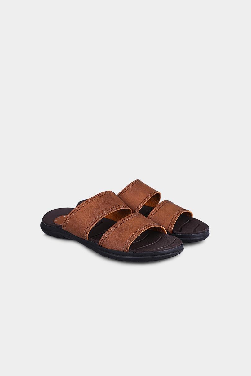 Yongki Komaladi Flip Flop & Sandal Fashion Pria 42070014 Tan