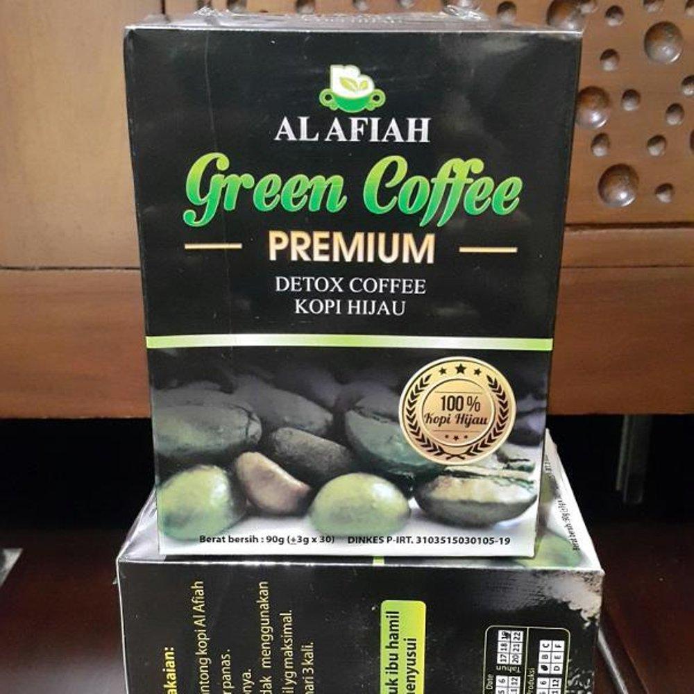 Green Coffee Original Kopi Hijau Diet Alami Bean Premium Al Afiah Detox