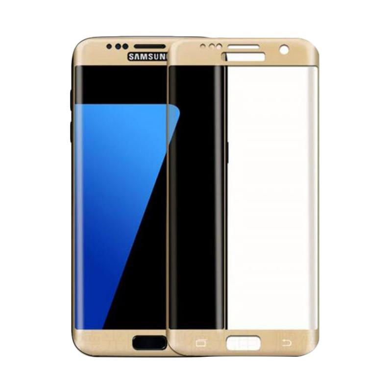 Tempered Glass Screen Protector for Samsung Galaxy S6 Edge Plus G928 [Full Cover Melengkung]