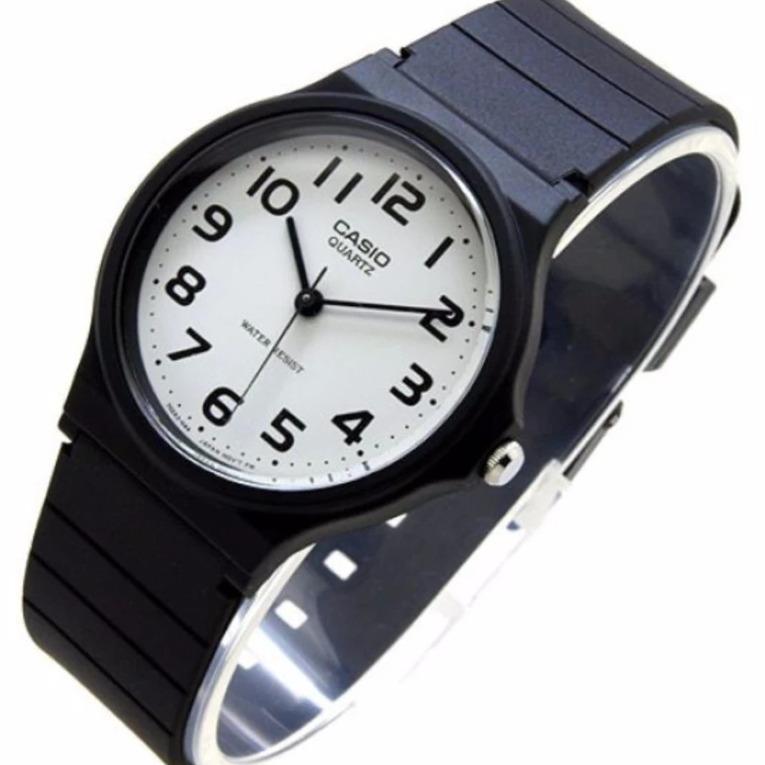 ... Analog Watch Wanita Rubber. Source · Casio Original Jam Tangan Unisex - Hitam - Strap Karet - MQ24-7B2LDF