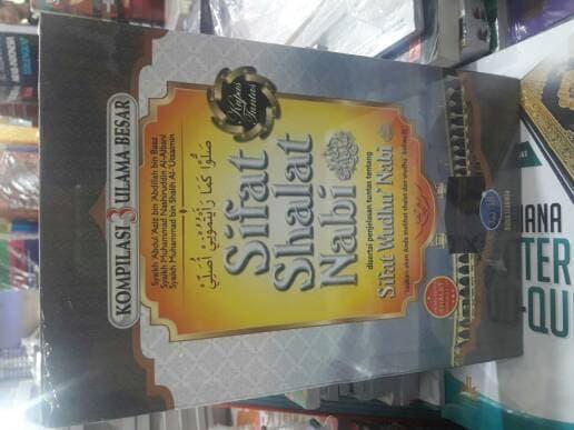 SIFAT SHALAT NABI penerbit media tarbiyah original hard cover gansabook 399