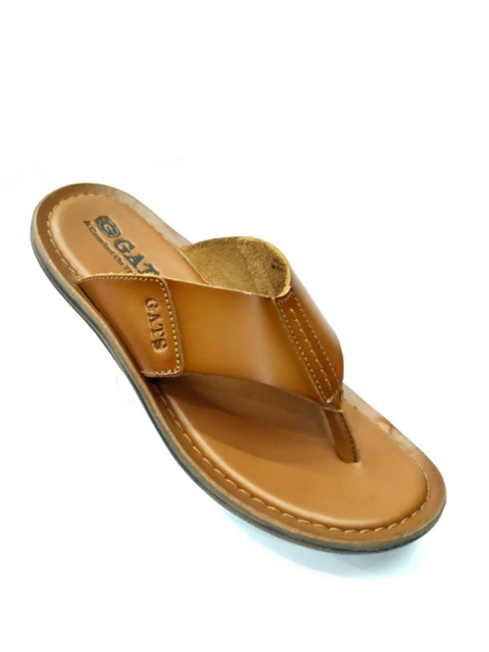 Sandal Kulit Gats HG 282 - TAN