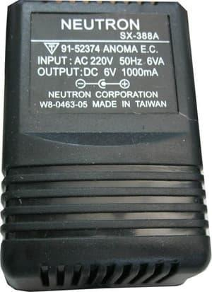 ADAPTOR 6 VOLT DC 1000MAH WITH STABIL MADE TAIWAN