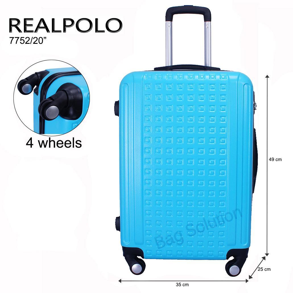 Jual Koper Terbaru Terlengkap President Uk 20 Real Polo Tas Kabin Hardcase Fiber Abs 4 Roda Putar Size Inch