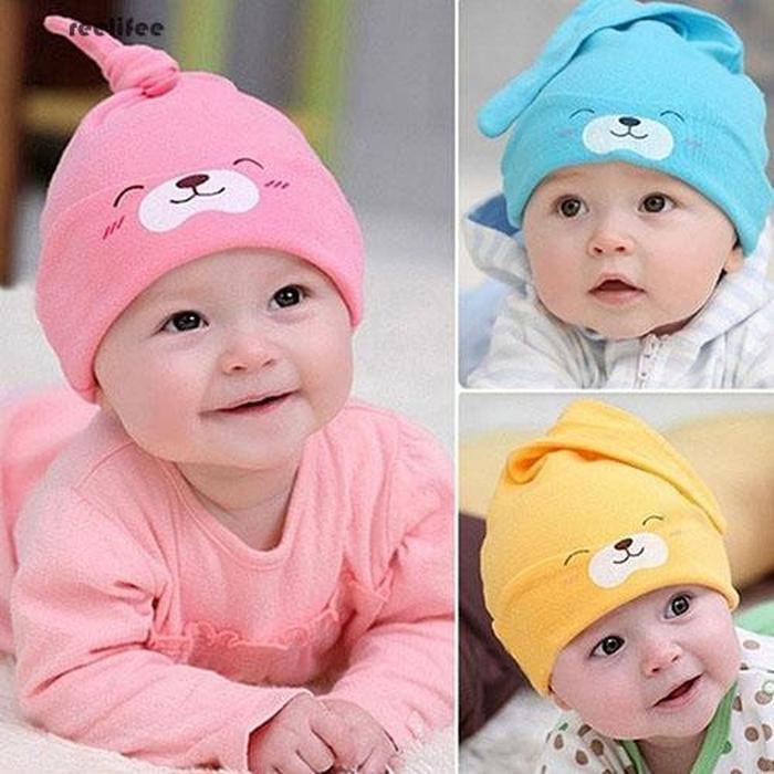 Baby Hat Cat Sleep 2in1 Topi Kupluk Lipat Bisa Untuk Berjemur Bayi Di Pagi Hari By Cute Baby Shop.