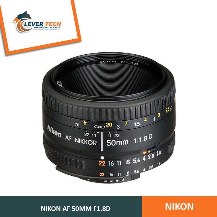 Nikon AF 50mm f/1.8 D Lensa Kamera