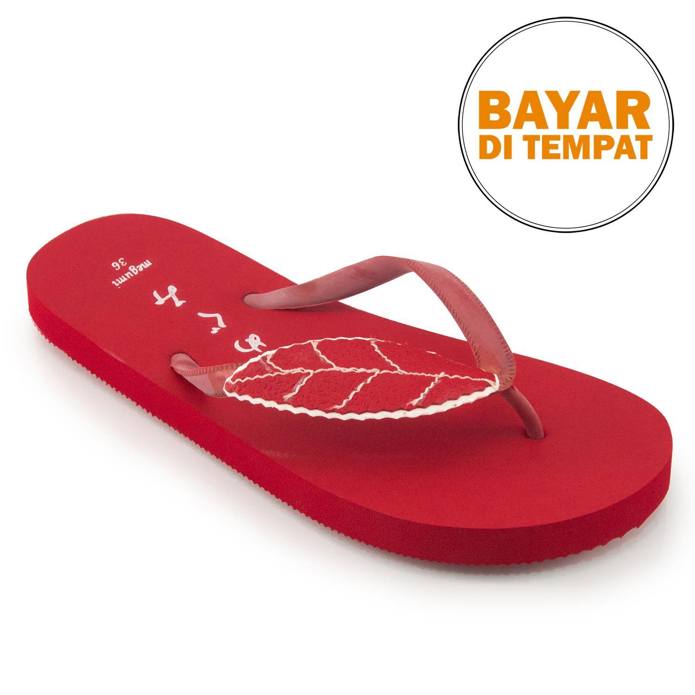 Megumi Ivy - Sandal Jepit - Merah