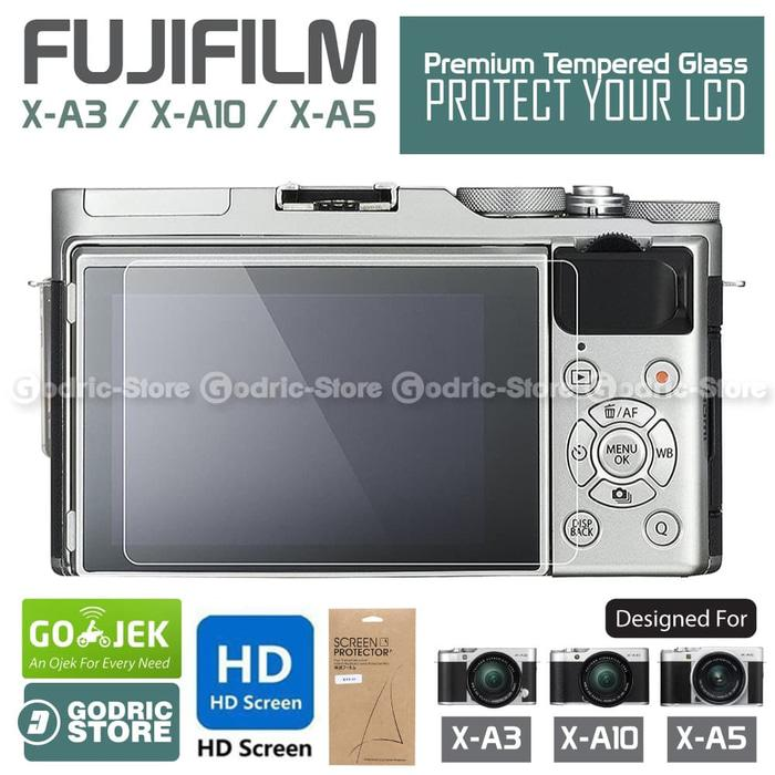 Ready! Fujifilm X-A5 U002F Xa5 Lcd Tempered Glass Screen Protector Anti Gores - ready stock