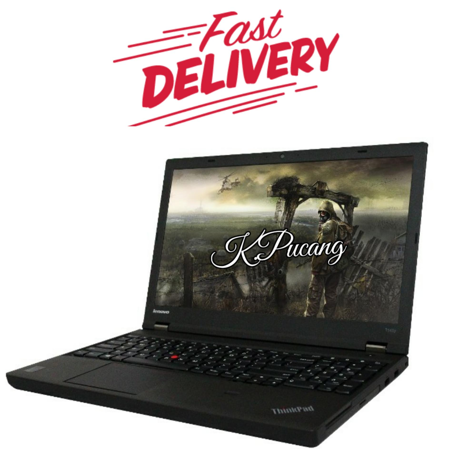 Lenovo Thinkpad T540p | Core i7-4710MQ  | 8GB DDR3 | 1TB HDD | NVIDIA GeForce GT 730M (1GB DDR 3 ) | DVDRW | DOS | 15,6