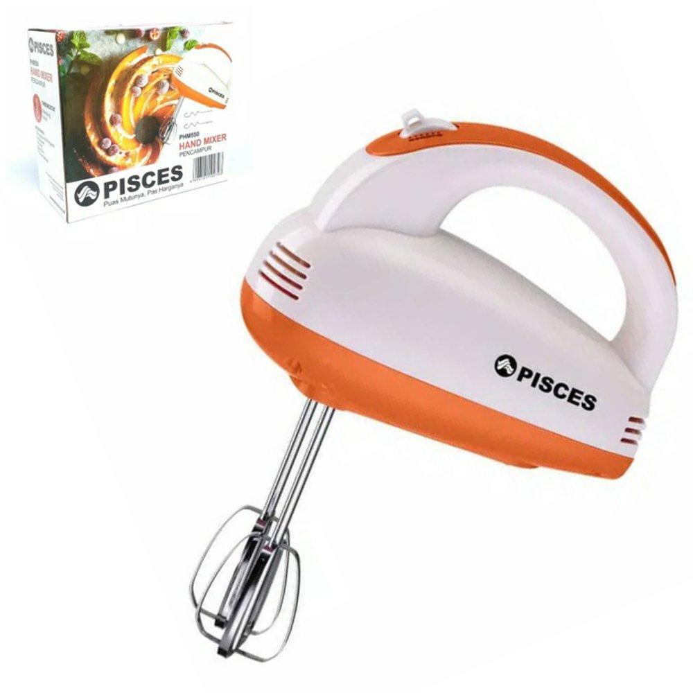 Hand Mixer Pisces PHM550 150 Watt Mixer Pengaduk Adonan Kue