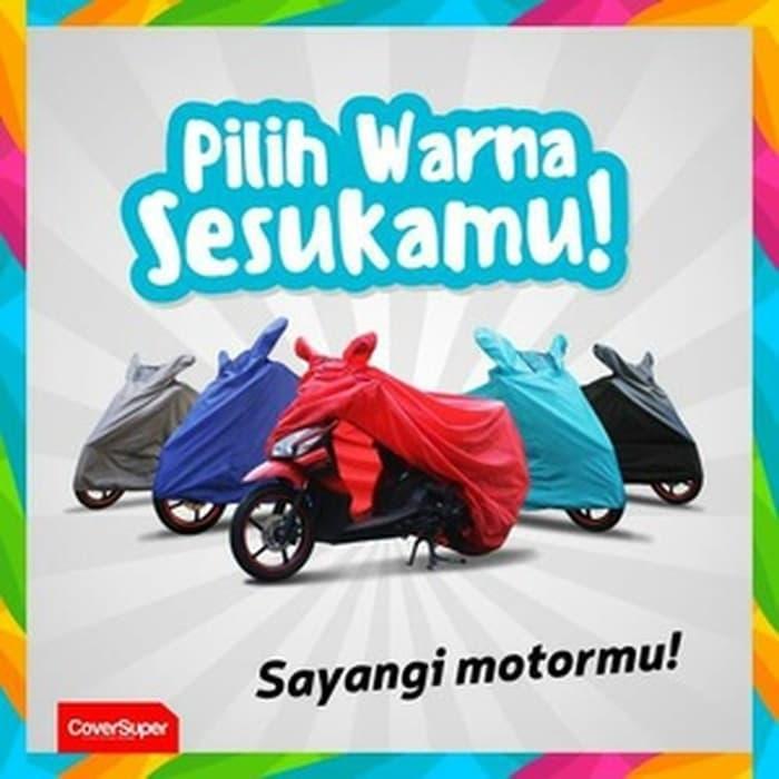 BEST SELLER!!! Sarung motor COVERSUPER suzuki satria eceran harga grosir - R9ATAB