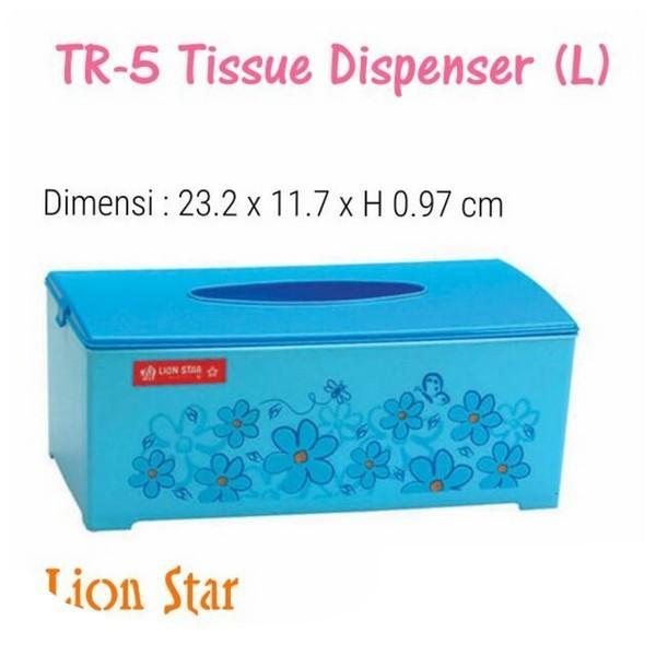 Kidstafun - TR-5 Tissue Dispenser (L) / Tempat Tissue / Box Tissue
