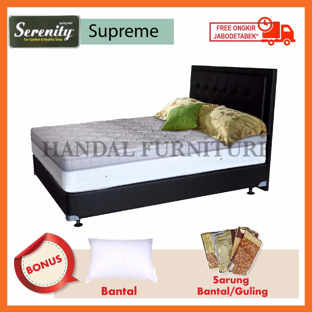 Serenity Set Kasur Spring Bed Supreme 200x200