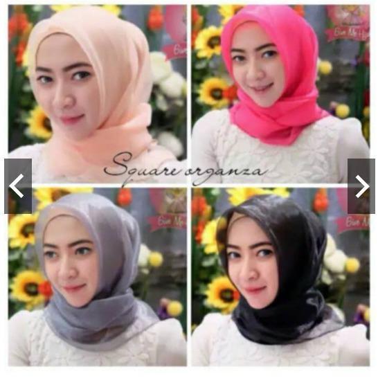 Square Organza Hijab / Organdi Hijab Square