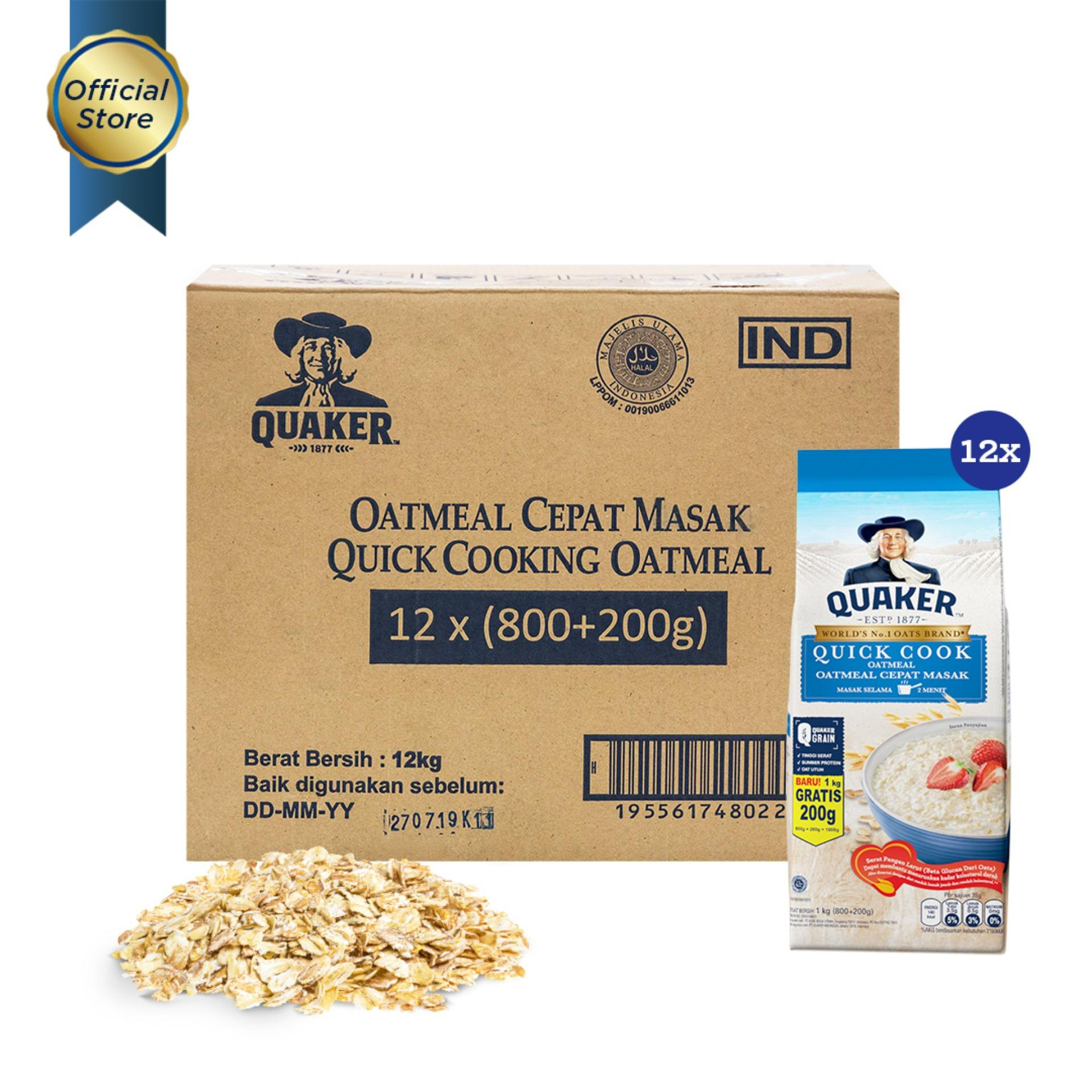 Jual Haverjoy Australian Rolled Oats 500 Gram Harga Spesifikasi Source · Quaker Quick Cooking Oatmeal Large Pack 800g 200g 1 Carton 12 Pcs